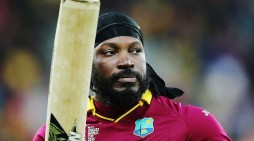 Chris Gayle's 'very big bat'