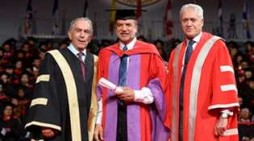 Trinidad-born CEO shares secret to success after receiving honorary doctorate of laws