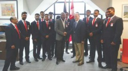 Youth cricket ambassadors back home after 'eye-opening'  experience  in Trinidad-Tobago