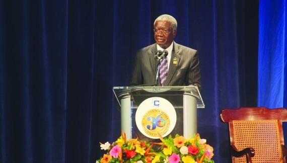 Barbados PM is keynote speaker at memorial dinner in Toronto