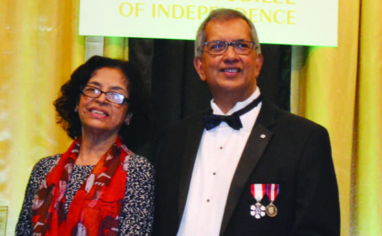Guyanese nationals receive awards at  Independence anniversary gala