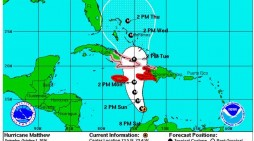 MET Office: Hurricane Matthew is projected to move towards Jamaica within the next 24-36 hours