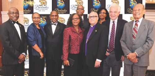 CELEBRATING BARBADOS' 50TH ANNIVERSARY OF INDEPENDENCE AT A GALA IN  TORONTO LAST SATURDAY