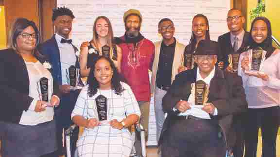Black community honoured at John Holland awards