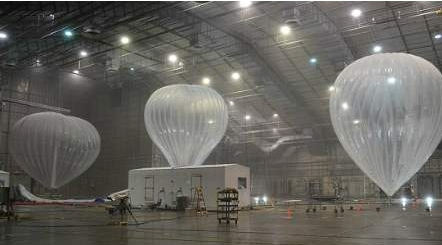 Balloons to help restore Puerto Rico's telephone networks
