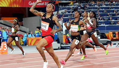 Ahye wins gold for Trinidad-Tobago