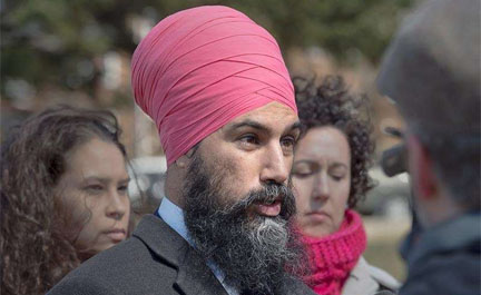 Carding is a form of systemic racism – Jagmeet Singh