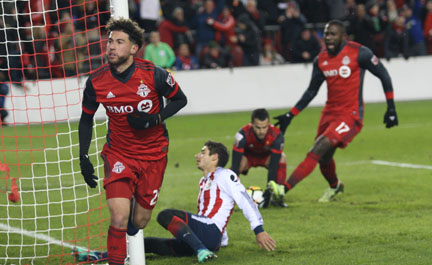TFC faces must-win in Mexico for CONCACAF title