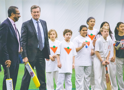 Toronto Mayor' s  School Cricket Tournament 2018 launched