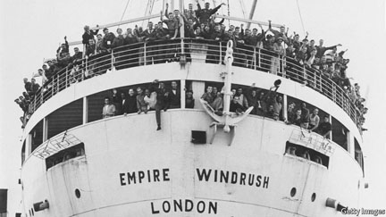 British government promises to formalise status  of Windrush migrants