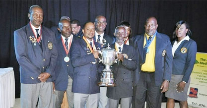Barbadian shooter wins Wogart Cup