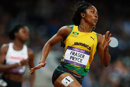 Hughes and Fraser-Pryce win at JN Racers Grand Prix