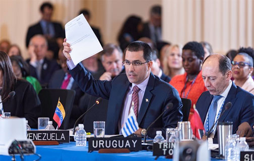 CARICOM countries divided on OAS vote   on suspending Venezuela