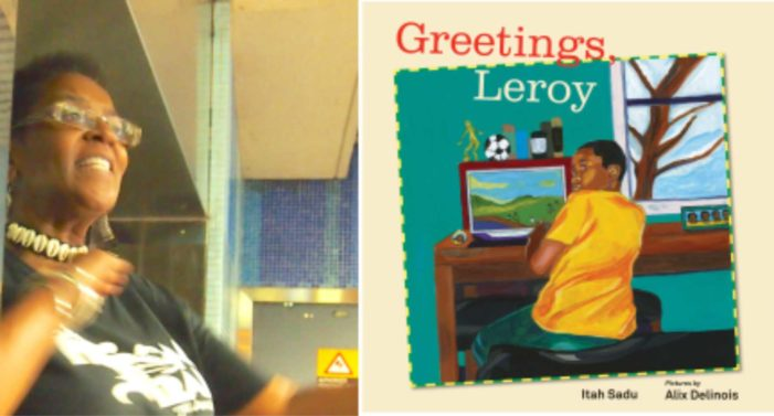 First day at school in Canada for Jamaica's Leroy
