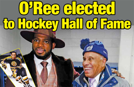O'Ree for Hockey Hall of Fame