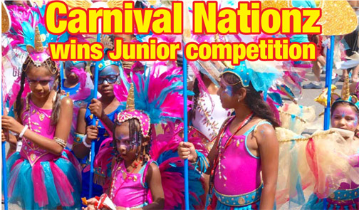 Lil' Nationz  wins  Junior Band of the Year