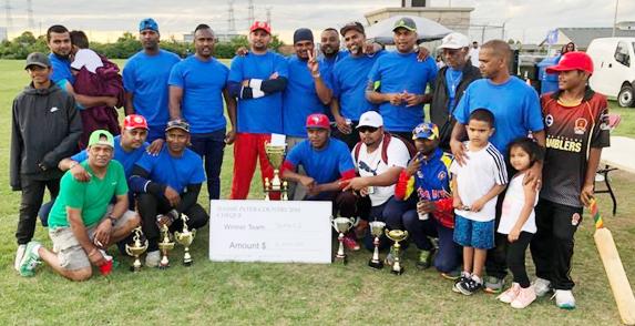 Berbice win 'Dassy' softball trophy