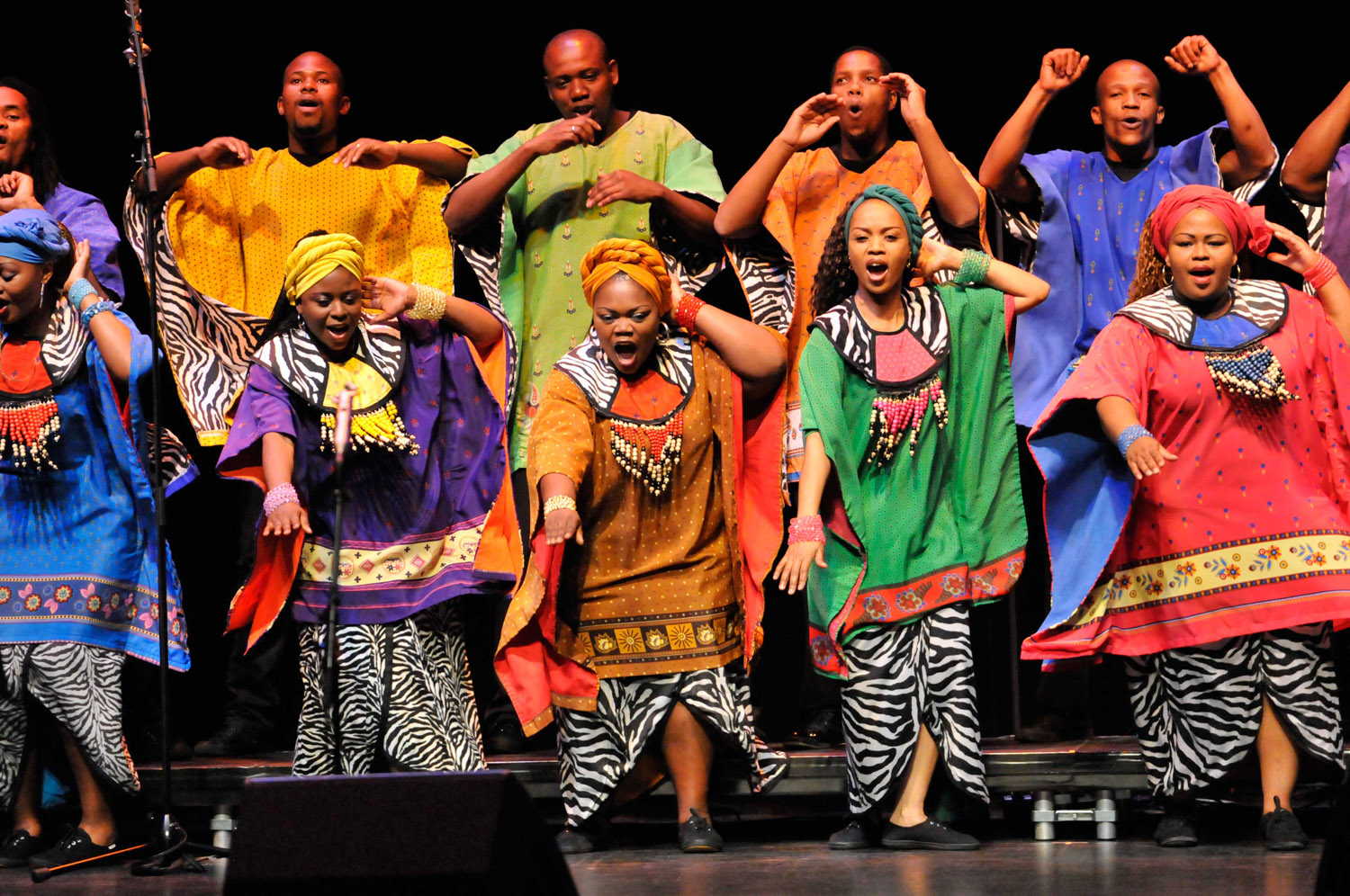 The Soweto Gospel Choir In Melbourne Photos and Images | Getty Images